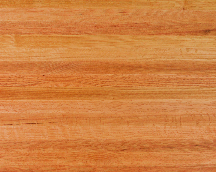 Edge-Grain Oak Countertops