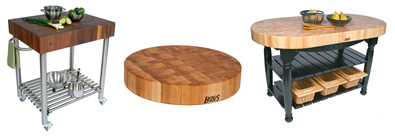John Boos butcher block products