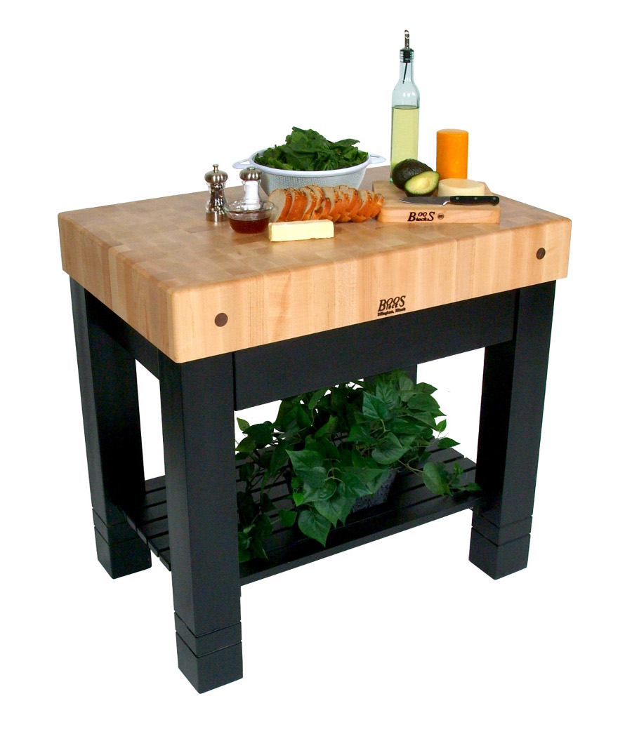Butcher Block Kitchen Islands & Carts