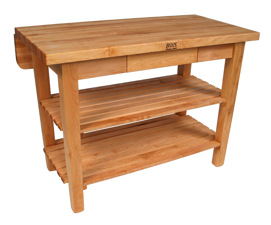John Boos Maple Kitchen Island Bar