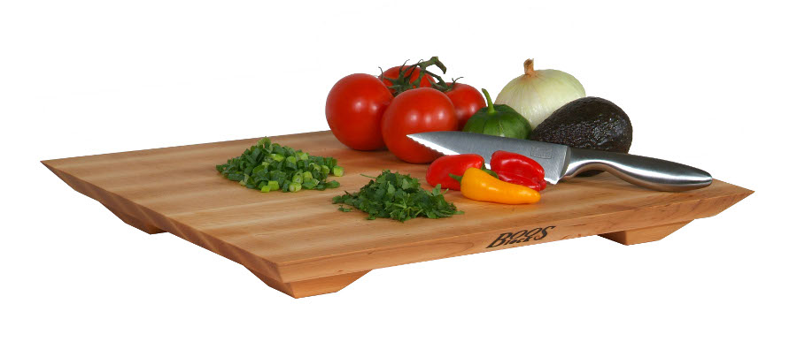"John Boos 20"" x 15"" Maple Fusion Cutting Board"