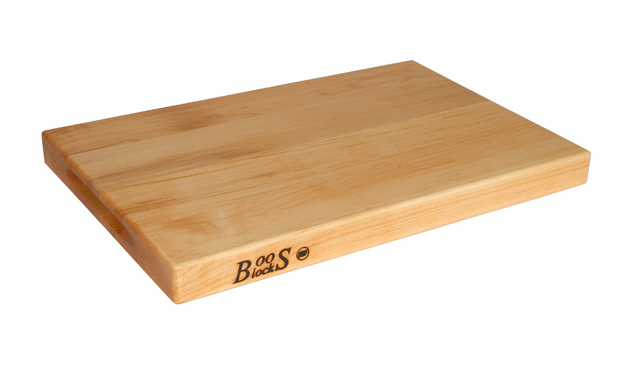 Boos Reversible Maple Cutting Board w/ Grips, 3 NSF-Approved Sizes