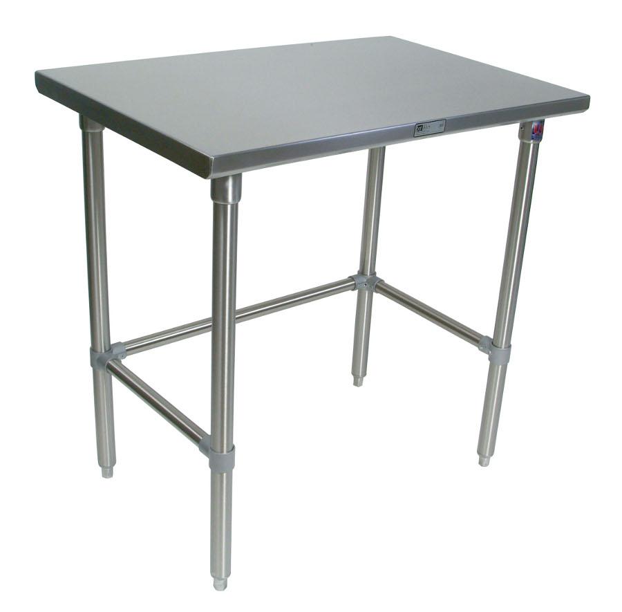 John Boos Stainless Steel Work Table - 16-Gauge SS Top