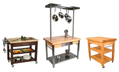 Kitchen Workcenters & work stations