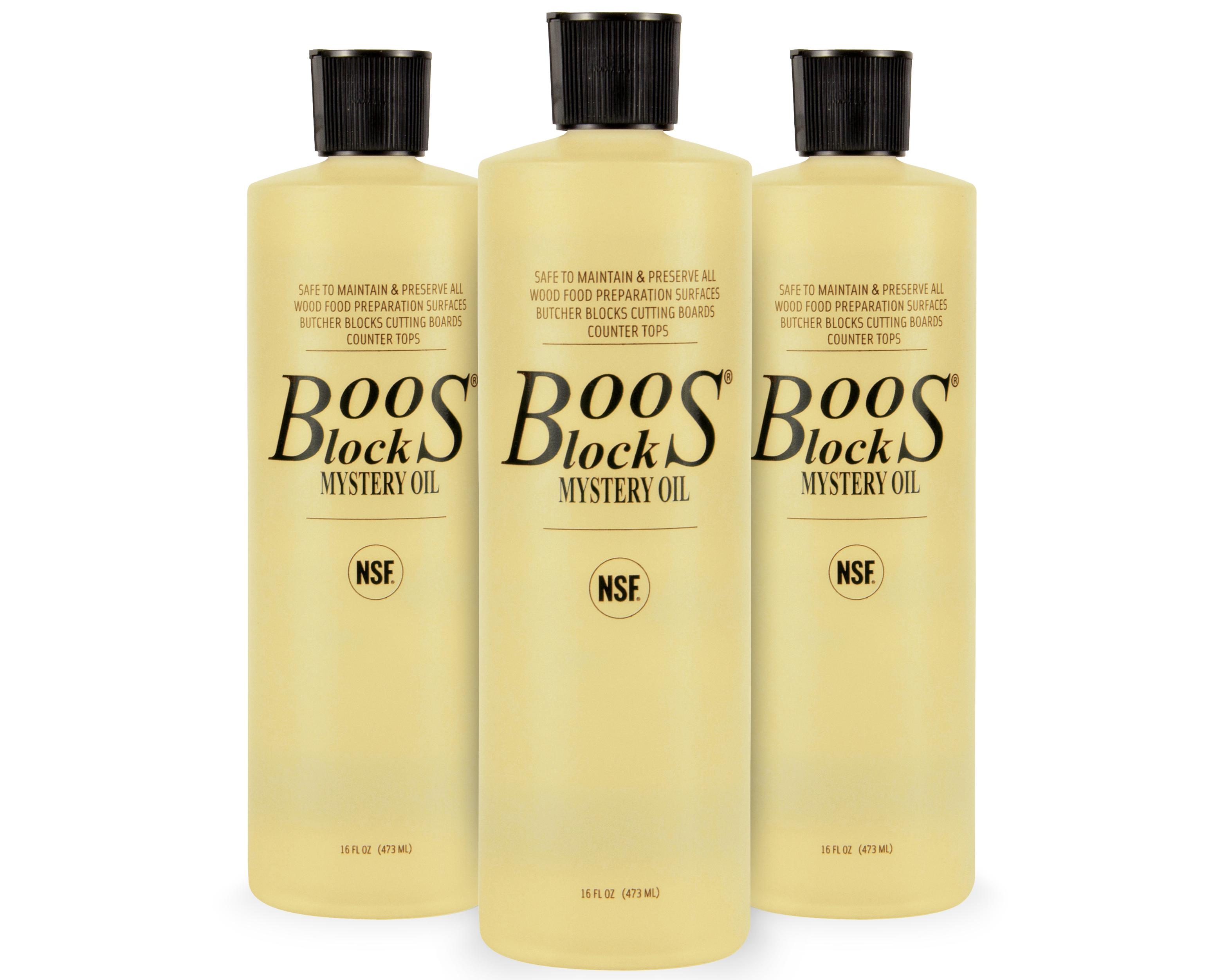 John Boos Butcher Block Mystery Oil Multi-Pack - 16-oz. Bottles