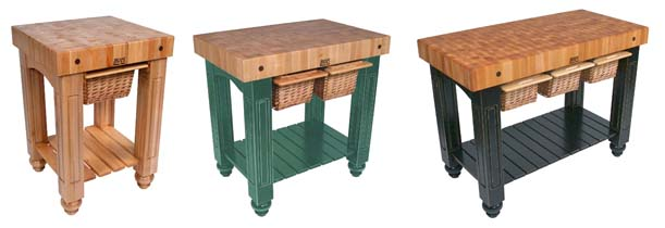 maple standing butcher blocks