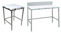 John Boos Poly-Top Cutting Tables