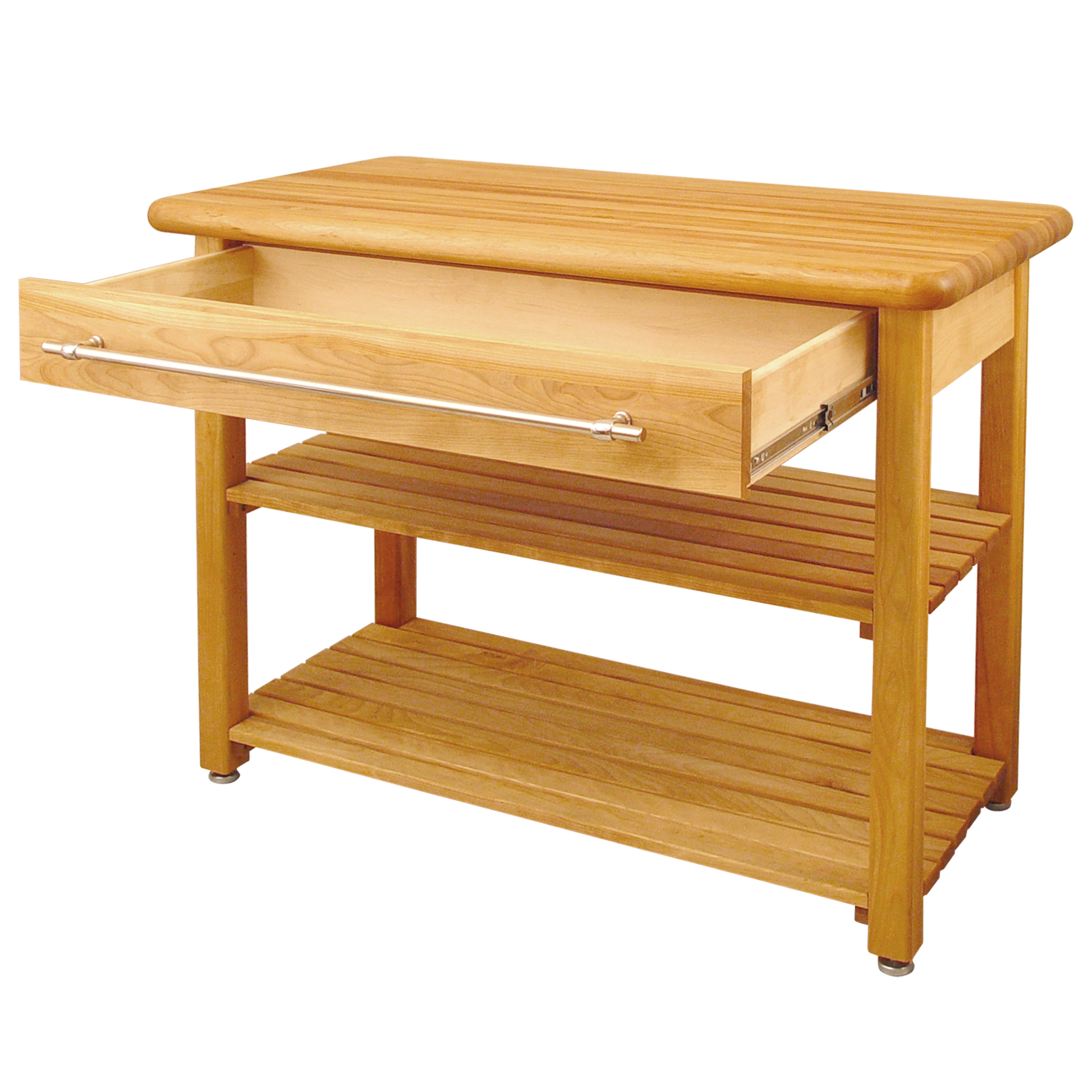 Catskill Contemporary Harvest Butcher Block Tablx 1e