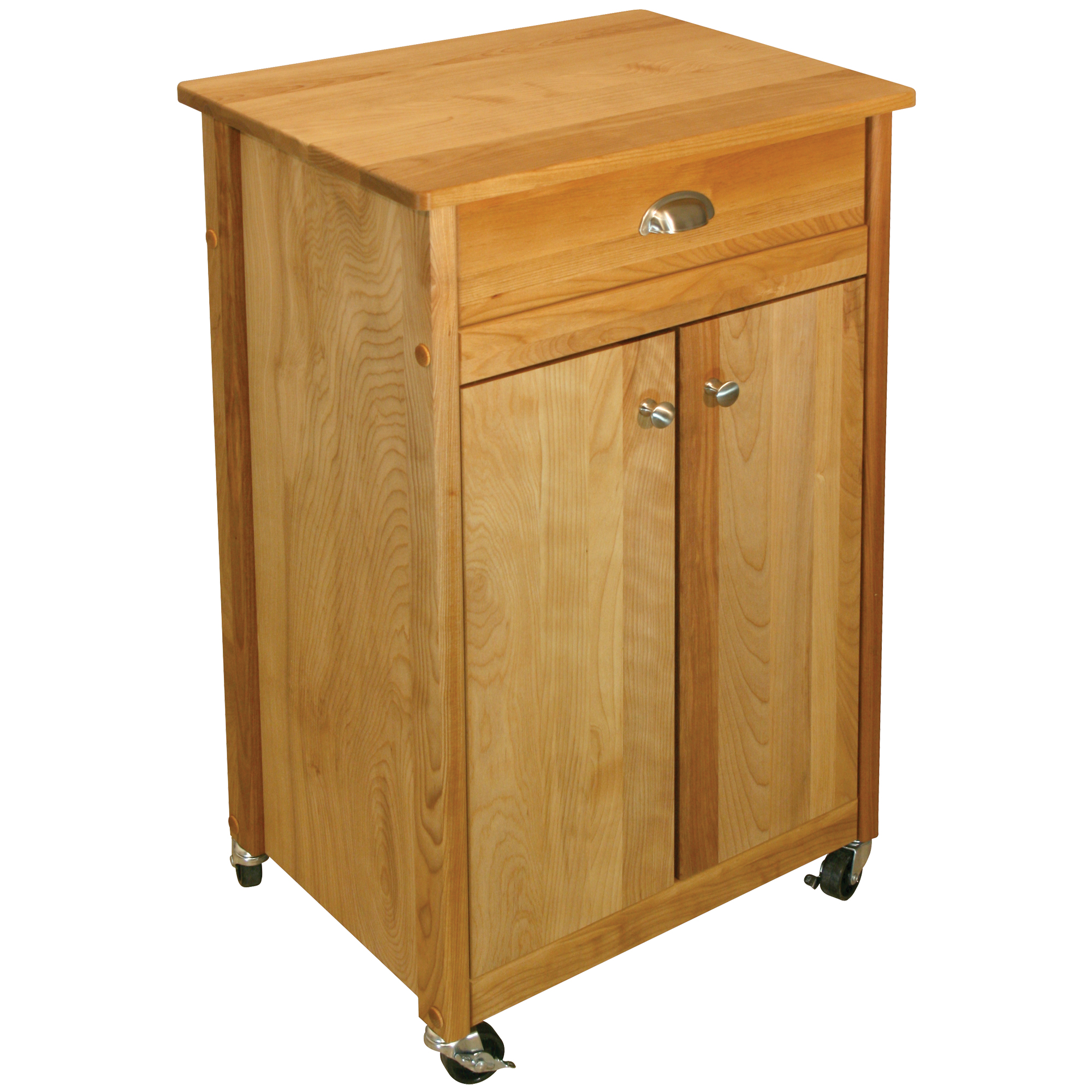 Catskill Deluxe Economy Butcher Block Cart – Best Value Kitchen Cart