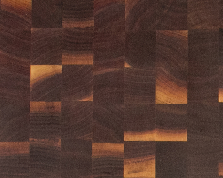 End-Grain Walnut Countertops