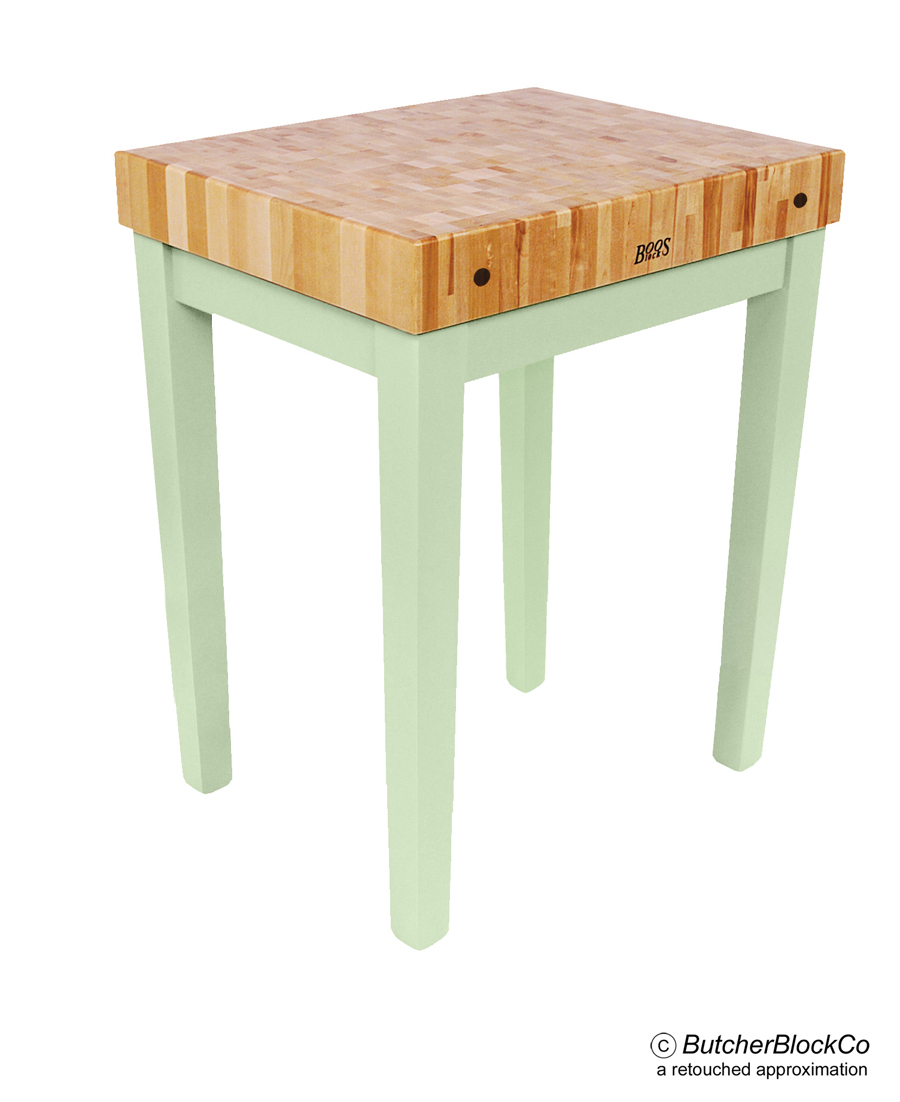 John Boos Chef 39 S Block 4 Thick Butcher Block Table