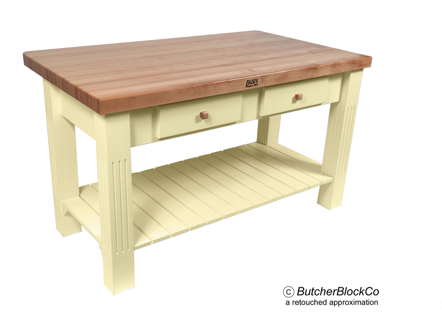 Small butcher block kitchen table made butcher block kitchen table by custom - Butcher block kitchen table set ...