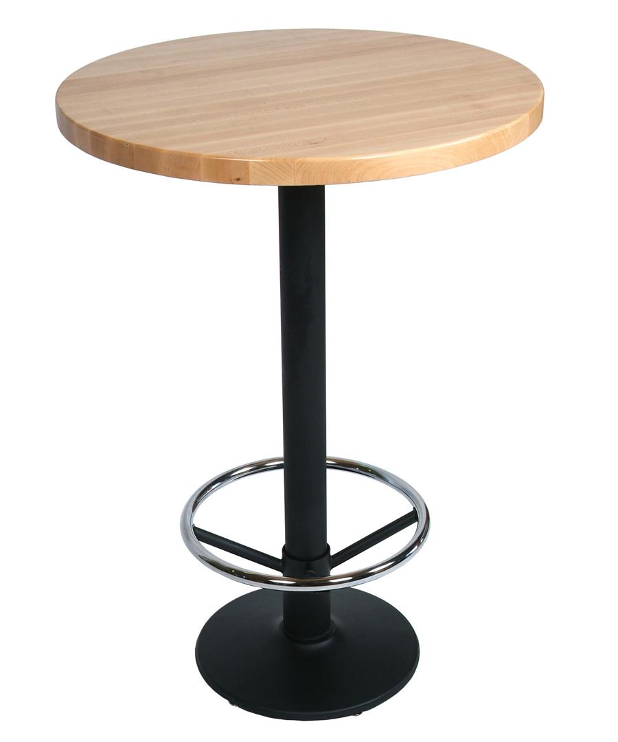 butcher block round table top round walnut butcher block