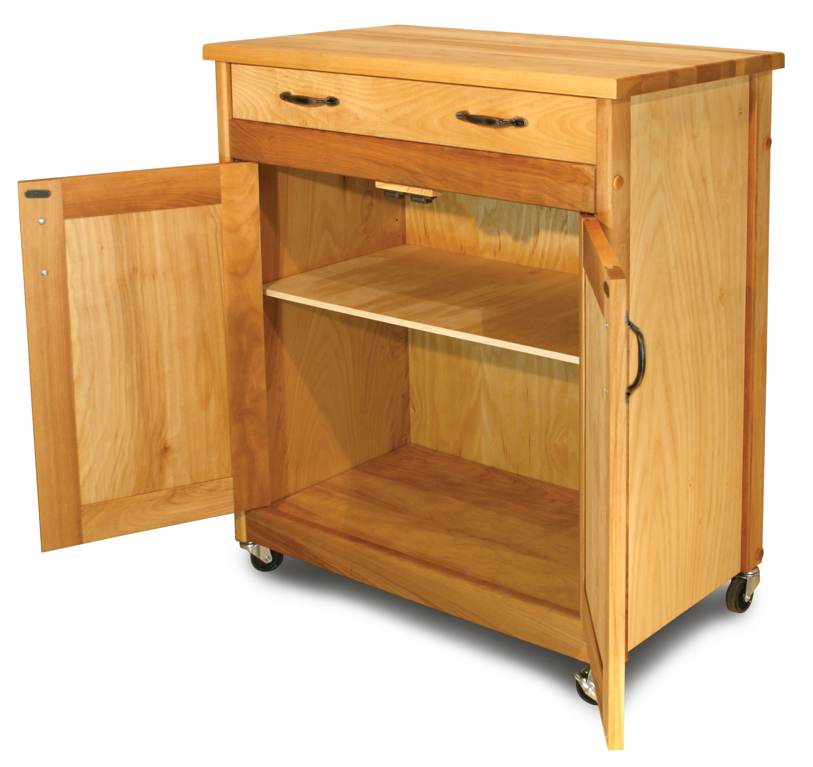 catskill designer island butcher block cart. Black Bedroom Furniture Sets. Home Design Ideas