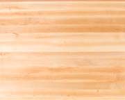 Edge-Grain Maple Countertops