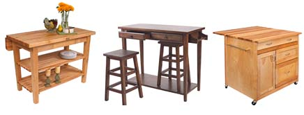 Kitchen Islands with Seats