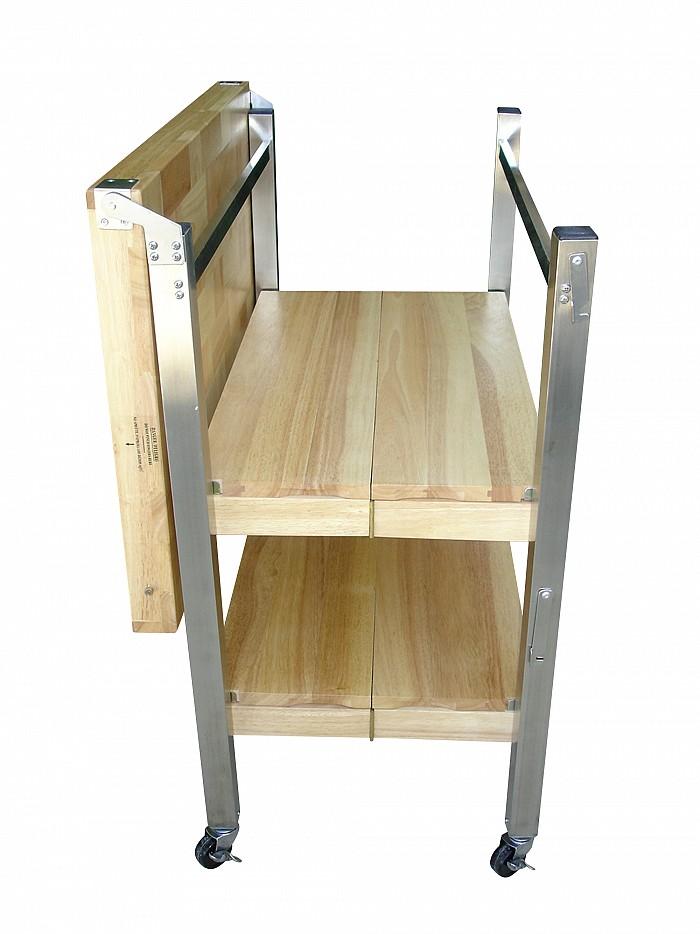 Folding Kitchen Cart Oasis Concepts Flip Fold
