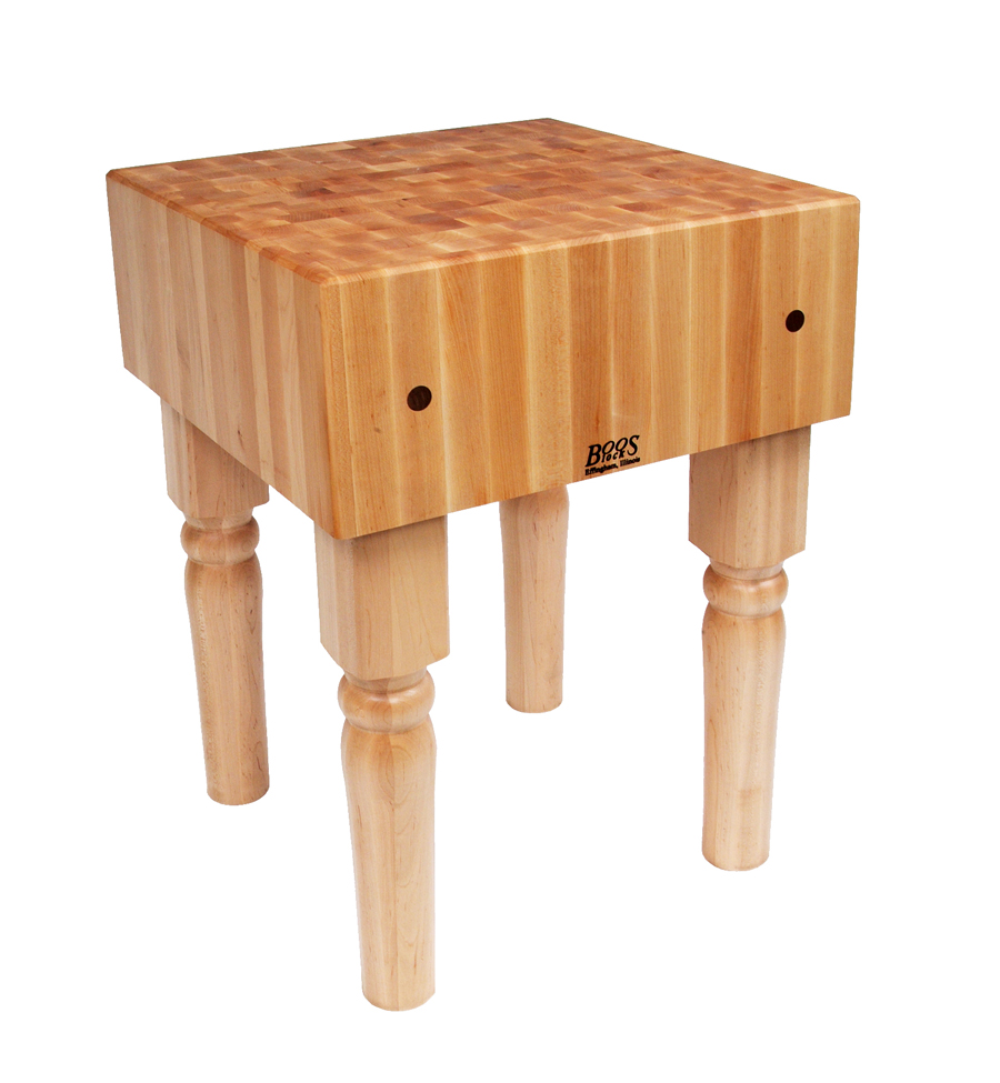 John Boos Butcher Block End Grain Maple Block