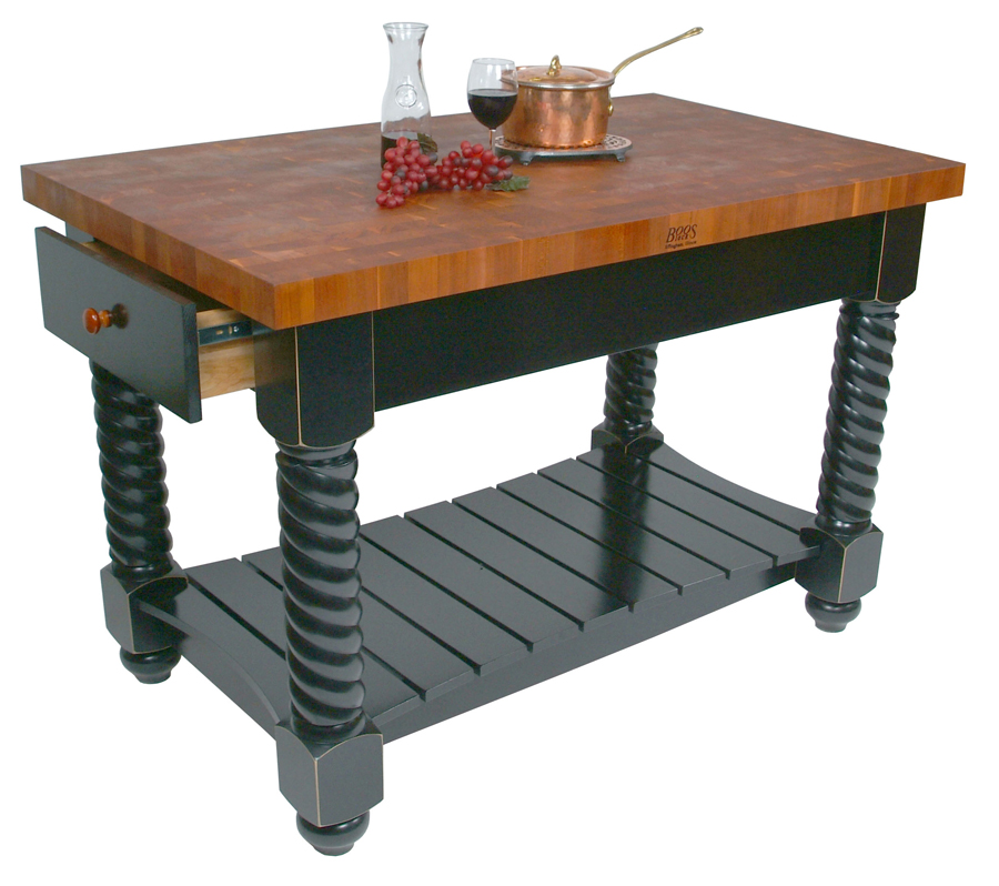 Butcher Block Kitchen Island Rachael Edwards