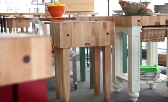 Boos Butcher Blocks Tables Carts Islands Boards