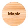 maple dining table tops