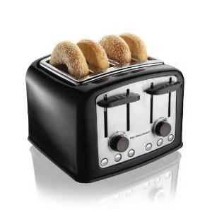 4.Hamilton Beach 24444 Smart Toast Extra-Wide Slot Toaster