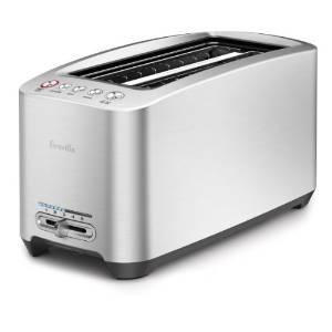 5.Breville BTA830XL Die-Cast 4-Slice Long Slot Smart Toaster