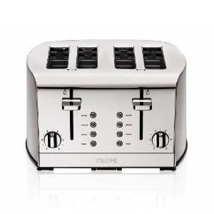 6.KRUPS KH734D Breakfast Set 4-Slice Toaster