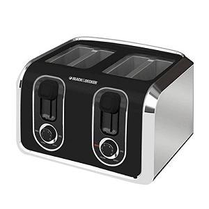 1.Black & Decker TR1400SB 4-Slice Toaster