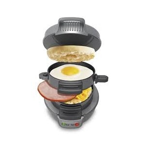 3.Hamilton Beach 25475 Breakfast Sandwich Make