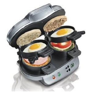 1.Hamilton Beach 25490A Breakfast Sandwich Maker
