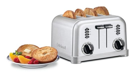 best rated 2 slice toasters