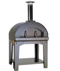 1.Large Italian Wood Burning Freestanding Pizza Oven