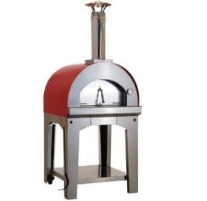 2.Large Italian Wood Burning Freestanding Pizza Oven