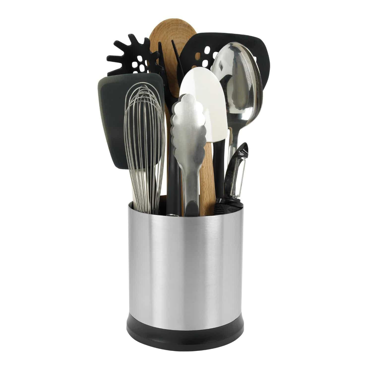Top 3 kitchen utensil holders of 2018 jens comparison reviews workwithnaturefo