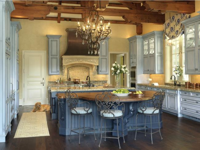 NKBA Award Winning French Country Large Kitchen Design
