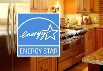 Energy Star Logo Superimposed over range