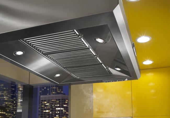 ProFeatures PersonalStyle KitchenAid Commercial Style Range hoods