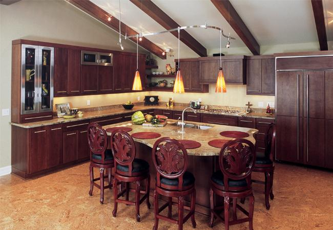 Entertaining Kitchen Island