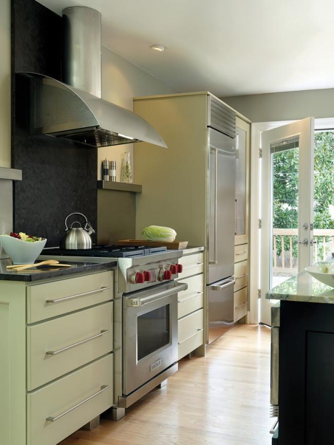 NKBA Award Winning transitional kitchen design for two cooks