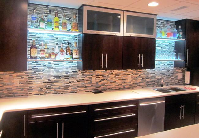 Shed Light On The Kitchen Eluma Illuminated Shelving