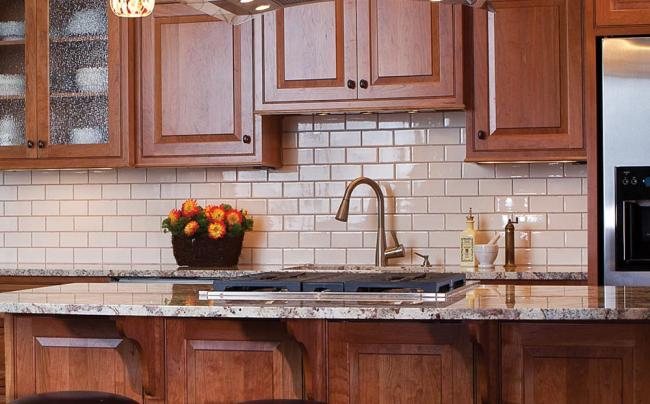 White-Subway-Tile Kitchen