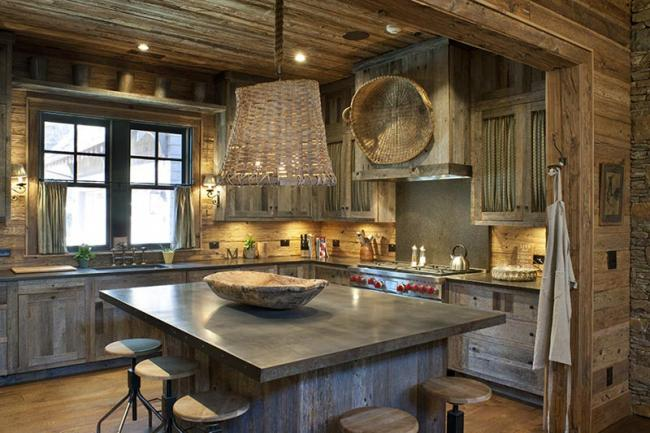 North Carolina Mountain Kitchen