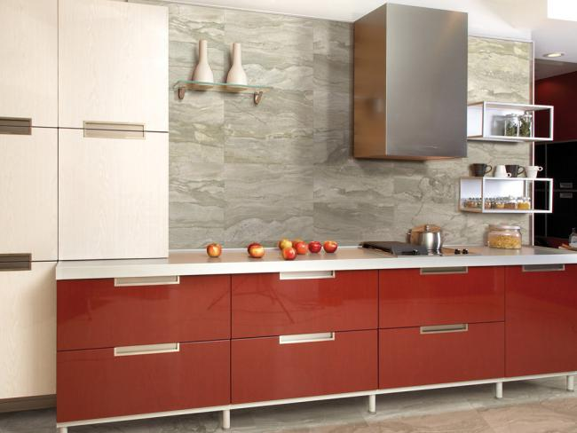 Kitchens Com Backsplashes Backsplash Tips Trends If A Backsplash Is Placed In An Area Without Wall Cabinets Should The Backsplash Go All The Way To The Ceiling