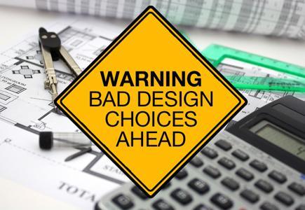 """Warning: Bad Choices Ahead"" Sticker"