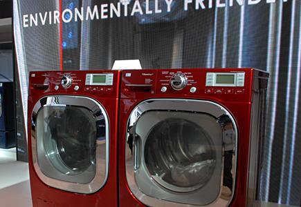 Modern-Washer-Dryer-Pair-In-Showroom