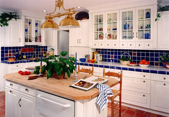brighten up a white kitchen