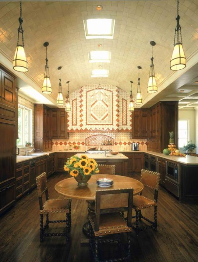 Spanish Revival Kitchen in California