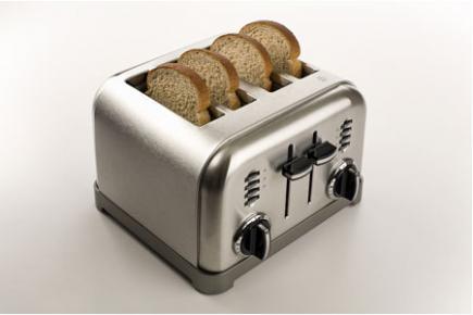 四个烤面包机