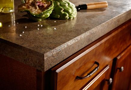 Laminate-Countertop-With-Food-On-Top